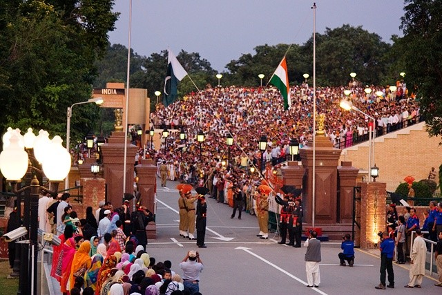 Wagah-Border-Amritsar-Punjab-India