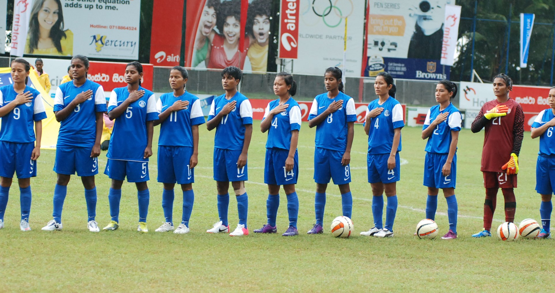Indian women's Team india