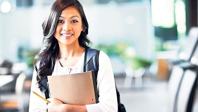 indian student studying Abroad