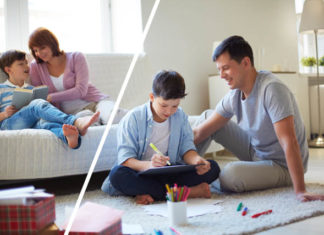 How should teens deal with divorced parents