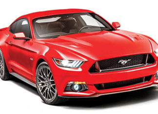 ford mustang sports car in India