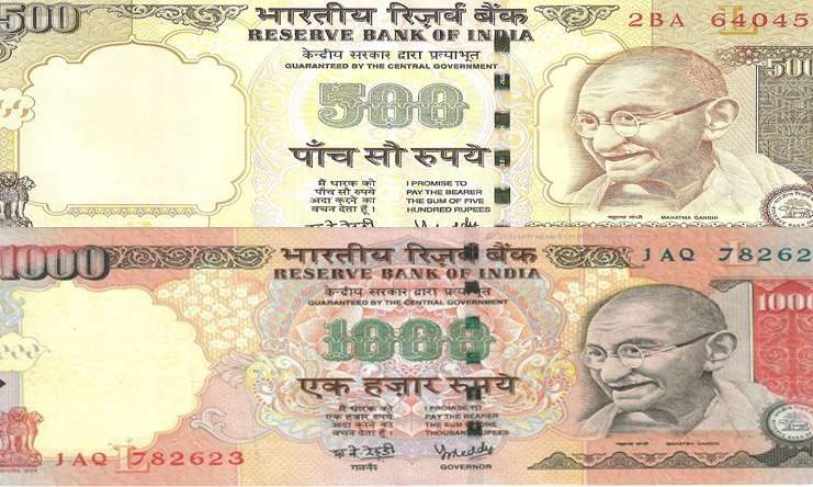 Rs 500, 1000 Rupees Notes banned in India