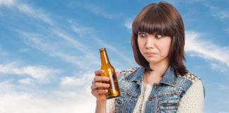 Teen Drinking alcohol