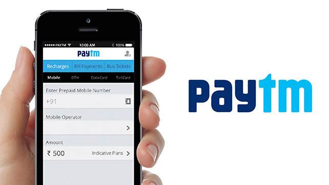 paytm Mobile app for sending money