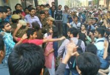 ramjas college clash 2017