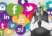 social media indian politics