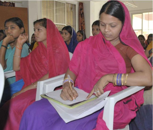 educated women in India