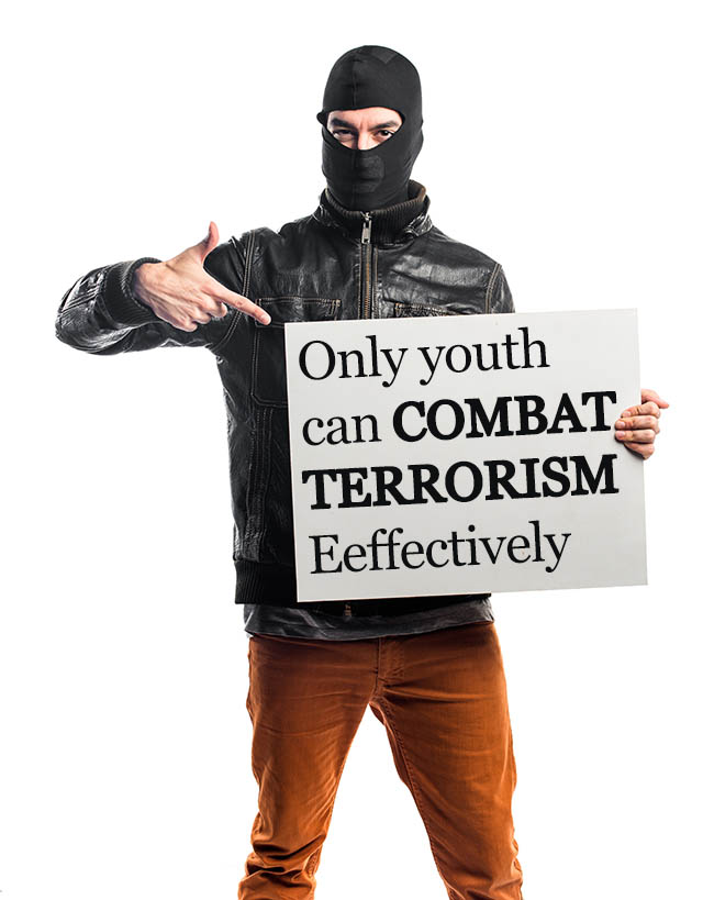 """role of youth in combat terrorism The global fight against terrorism this role, thrust on it by the crushed them with an iron hand"""" 1 thousands of misled sikh youth lost their lives in this."""